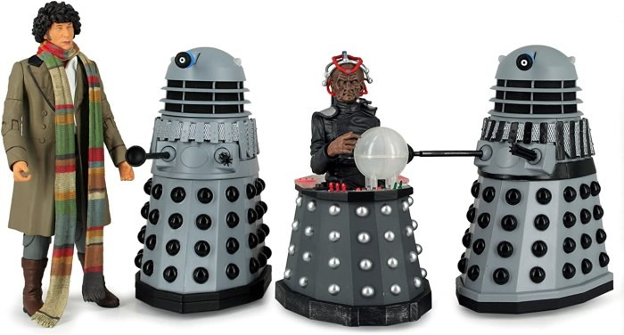 Underground Toys released a set of Destiny of the Daleks figures in 2012