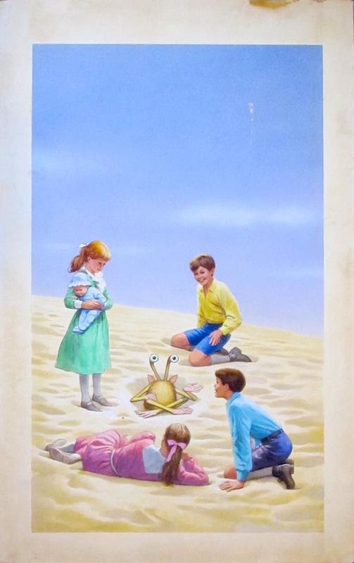 Five Children and It by E. Nesbit - art by Hector Garrido