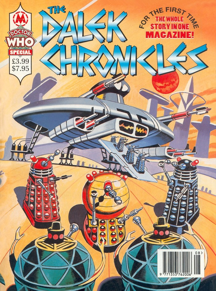 The cover of The Dalek Chronicles published by Marvel UK in 1994