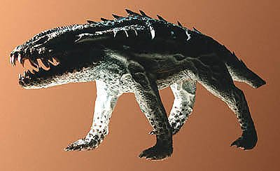 Alien Wolf, one of a series of 3D models created by Tim White for a small computer software company