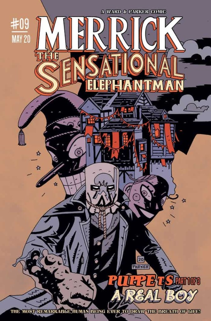Merrick: The Sensational Elephantman - Puppets - Cover