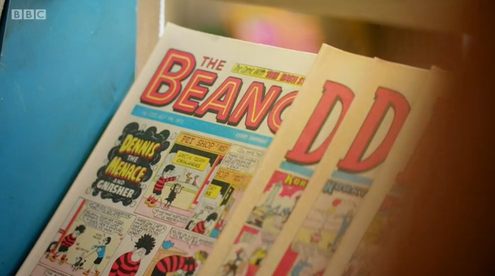 Back in Time for the Corner Shop - Comics. Image: BBC
