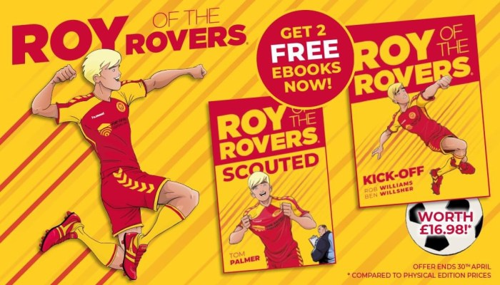 Roy of the Rovers - April 2020 Book Promotion