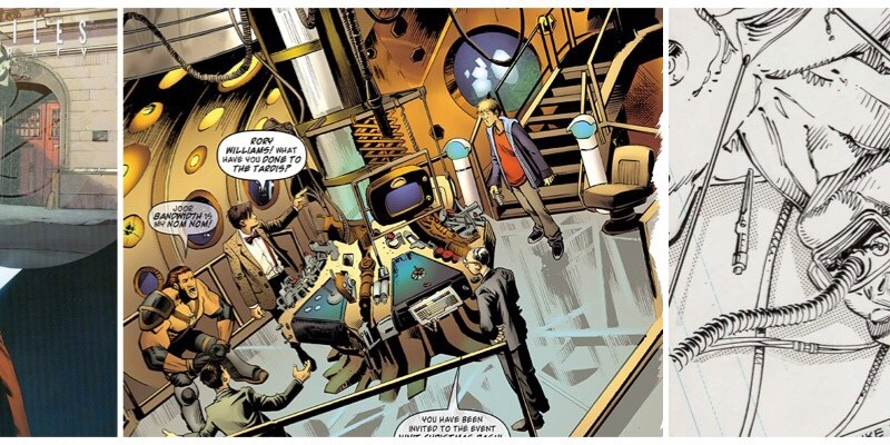 Artist Andrew Currie focus for latest Doctor Who: Panel to Panel podcast