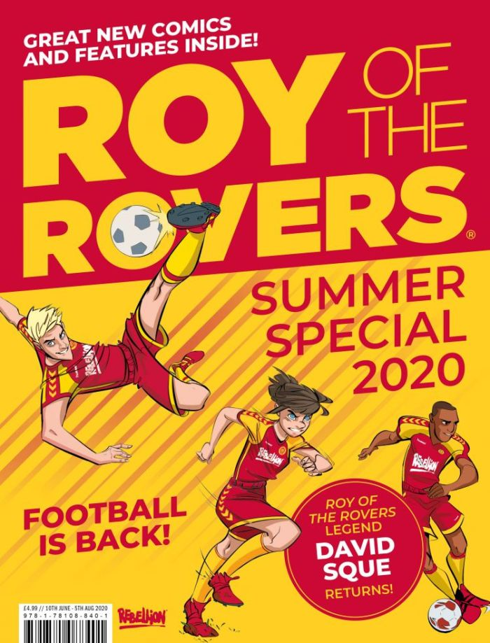 2020 Roy of the Rovers Summer Special Cover