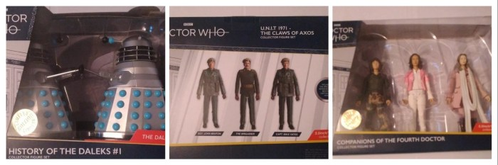 New Doctor Who Character Options figures in the works