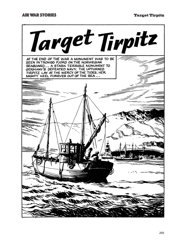 Fleetway Picture Library Classics - Air War Stories - Target Tirpitz