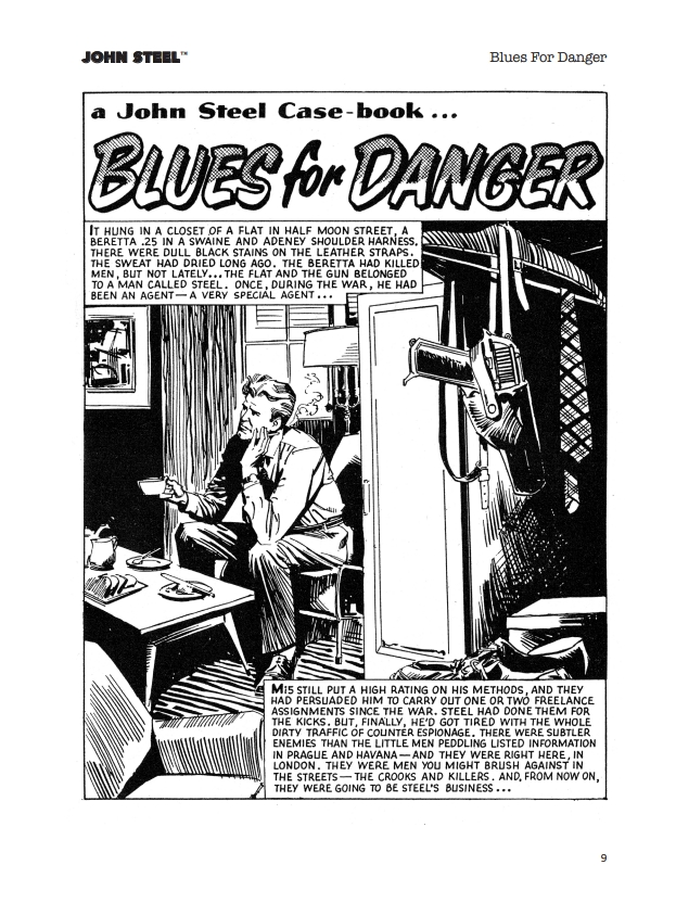 John Steel - Blues for Danger