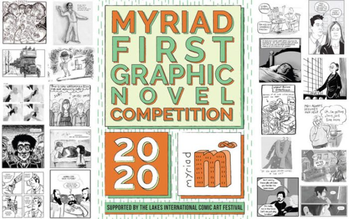 Myriad First Graphic Novel Competition