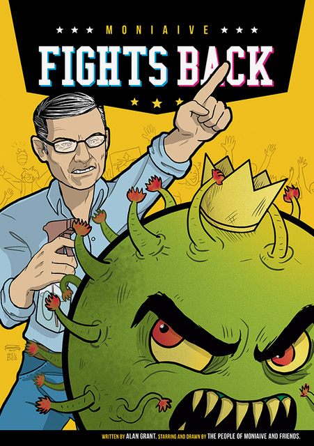 """""""Moniaive Fights Back"""" comic launched to support Scotland's Festival Village"""