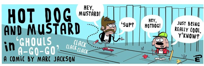 Splank! 2020 Annual - Hot Dog and Mustard by Marc Jackson