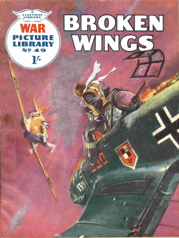 War Picture Library #49 first published May 1960. Cover art by Nino Caroselli