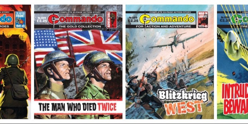 Commando Issues 5327 – 5330 mark VE Day 75th Anniversary and more