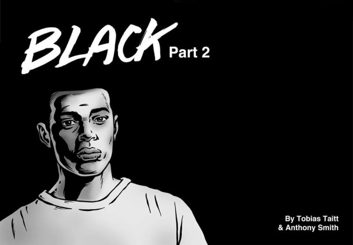 Tobias is older, but is he wiser? Black © 2020 Tobias Taitt and Anthony Smith