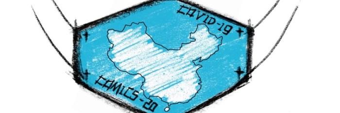 COVIDー19/Comics-20 logo, designed by YingZi Xu