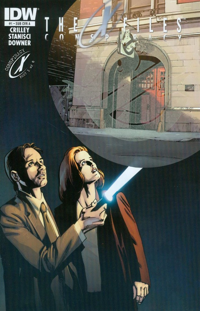 IDW's The X-Files #1 variant cover by Andrew Currie