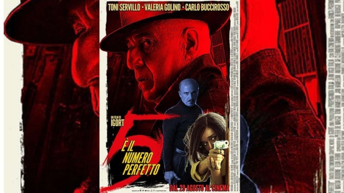 5 is the Perfect Number - Film Poster