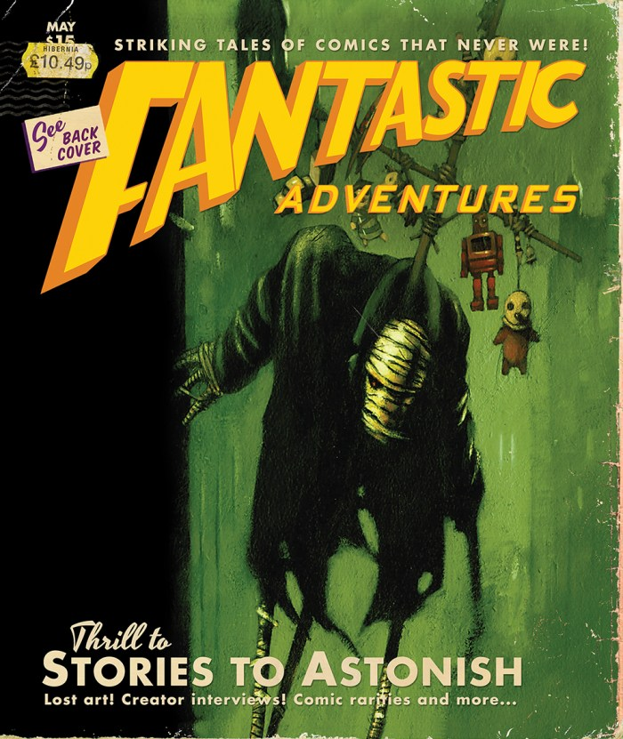 Fantastic Adventures - Cover