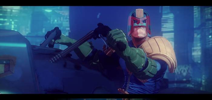 Judge Dredd Animated Series - Proof of Concept