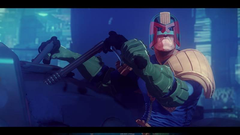 Judge Dredd Animated Series Proof of Concept Tests surface