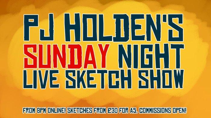 PJ Holden's Sunday Night Live Sketch Show