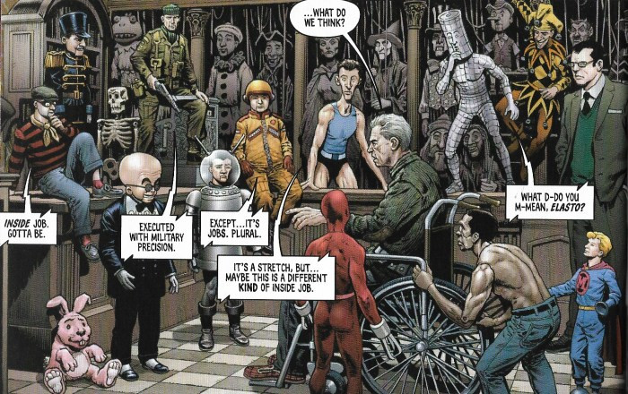 """""""The House of Dolmann"""" by Simon Furman (script), Chris Weston (art), Jim Campbell (letters) 