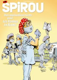 A recent issue of Le Journal De Spirou (cover dated 13th May 2020)