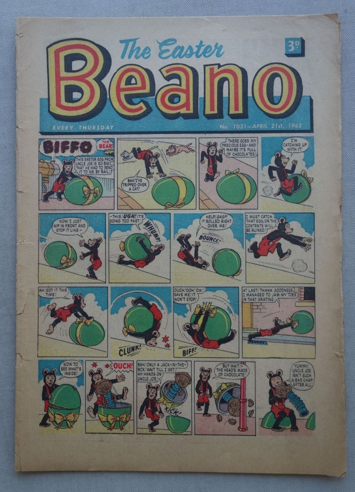 Beano No. 1031 - cover dated 21st April 1962