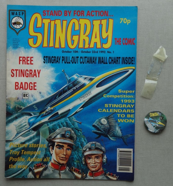 Stingray: The Comic Issue 1 - October 1992, with free gift