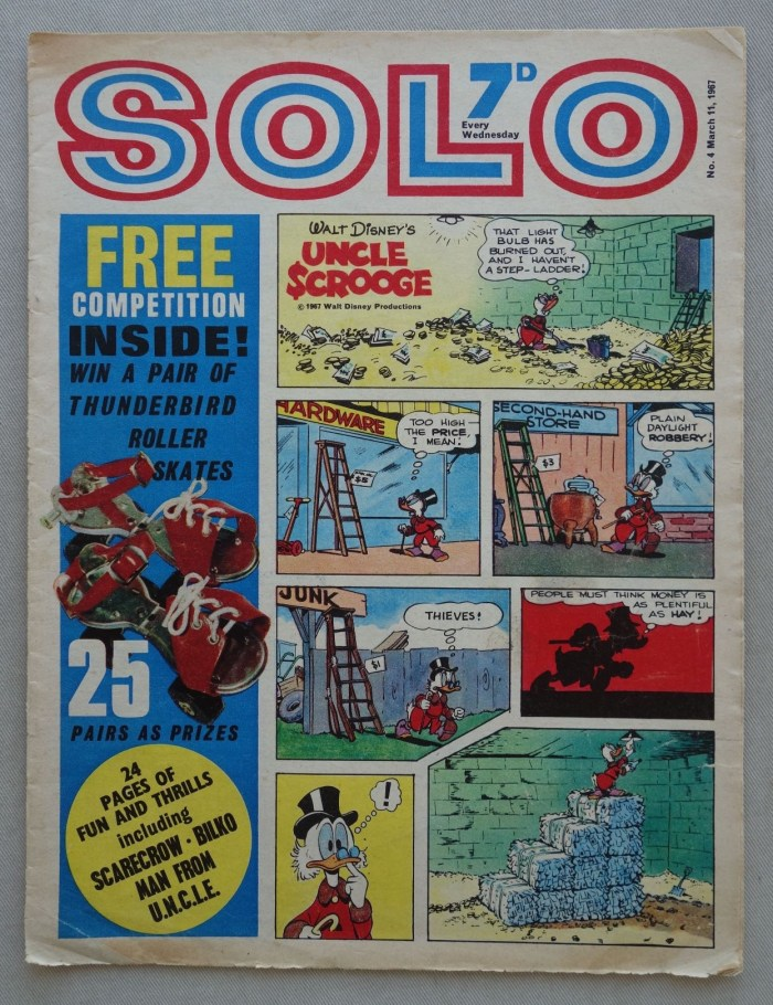 Solo Issue 4 - cover dated 11th March 1967