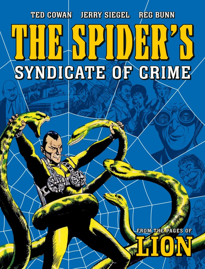 The Spider's Syndicate of Crime - Standard Cover