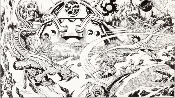 Fantastic Four - Art by Jack Kirby and Joe Sinnott