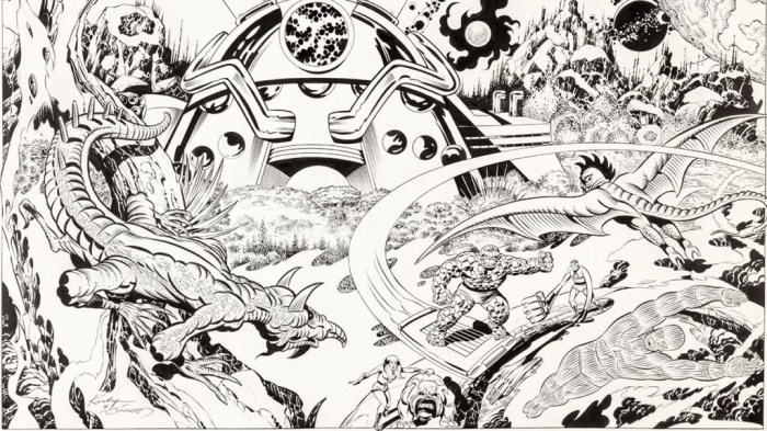 Fantastic Four - Art by Jack Kirby and Joe Sinnott