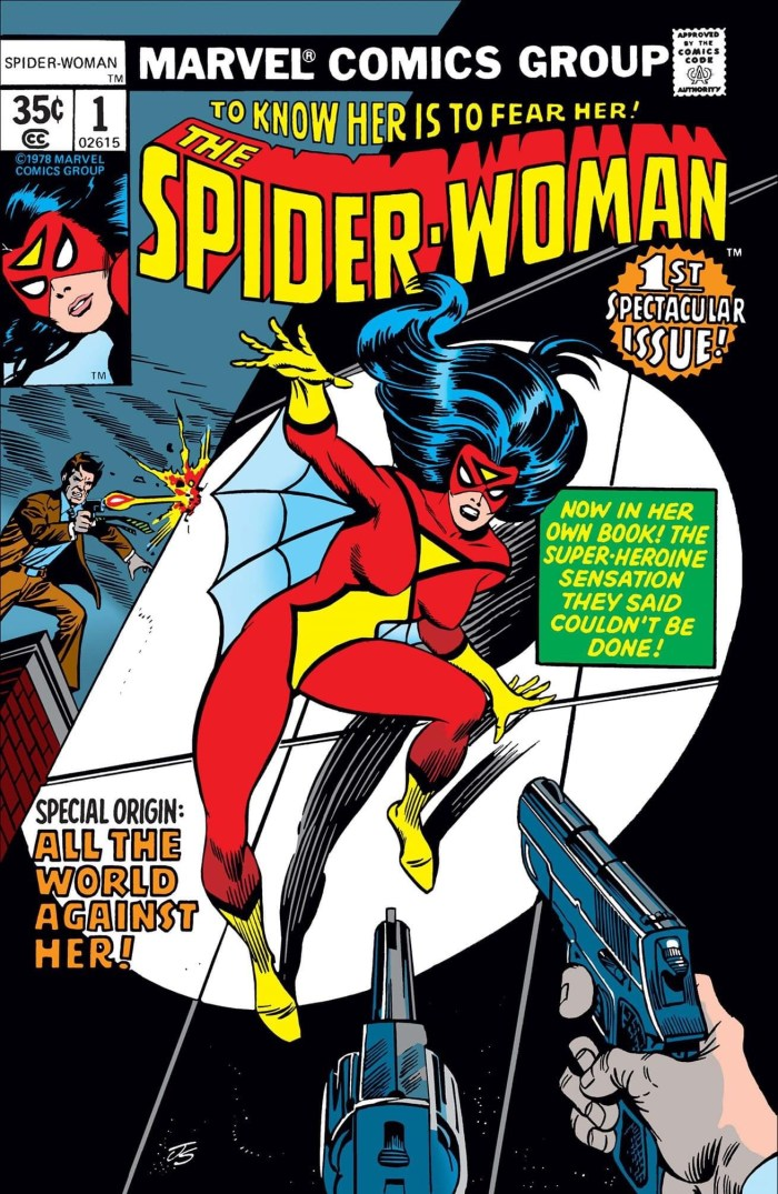 Spider-Woman #1 - Cover