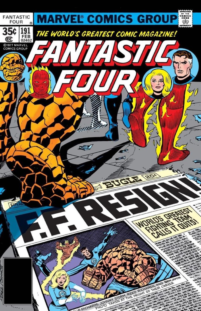 Fantastic Four #191 - Cover