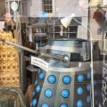 "A Dalek that Penzance shop owners were forced to mark up as ""not for sale"" for years, now is! Photo: John Freeman"