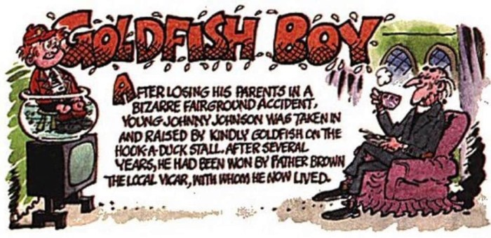 Goldfish Boy by Brian Walker