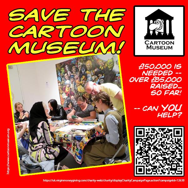 Save the Cartoon Museum