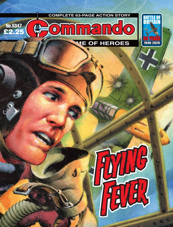 Commando 5347: Home of Heroes - Flying Fever