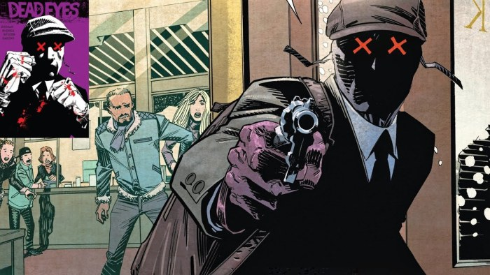 Dead Eyes by Gerry Duggan and John McCrea - a gangster tale with a difference