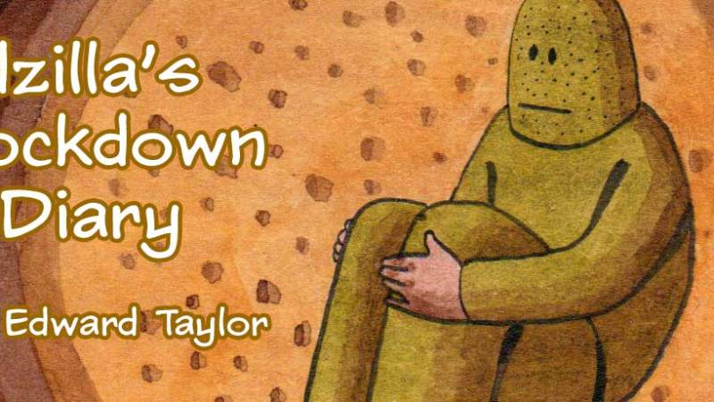 "Creator Spotlight: Don't miss ""Godzilla's Lockdown Diary"" by Edward Taylor"