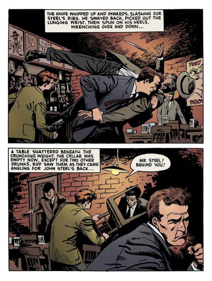 The John Steel Files - Sample Page