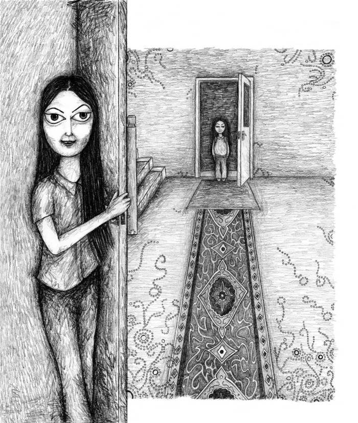 Art from Mongrel by Sayra Begum