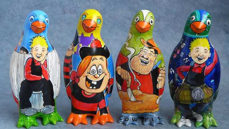 Pick up a Rikki O'Neil penguin!