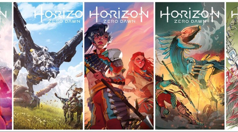 First Look: Titan Comics Horizon Zero Dawn