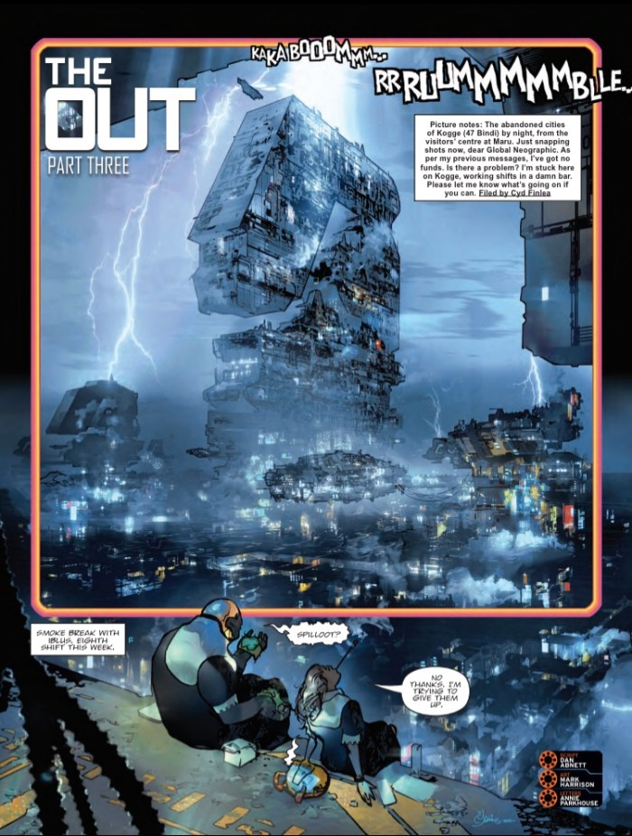 2000AD Prog 2189 - The Out