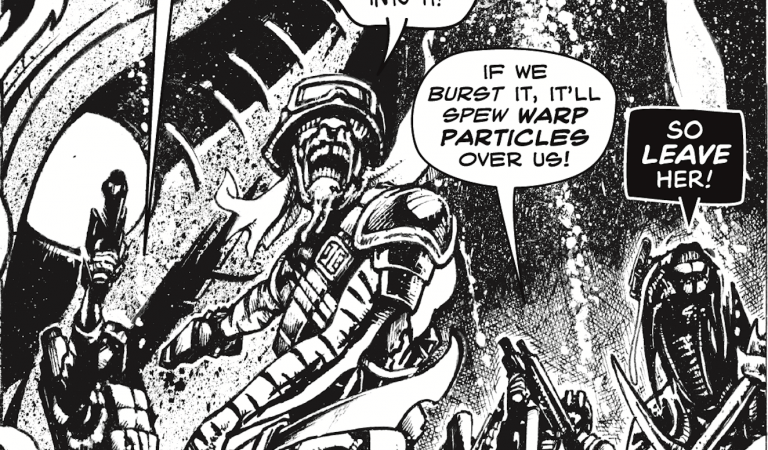 """Incoming! Pat Mills """"Spacewarp"""" available to pre-order now"""