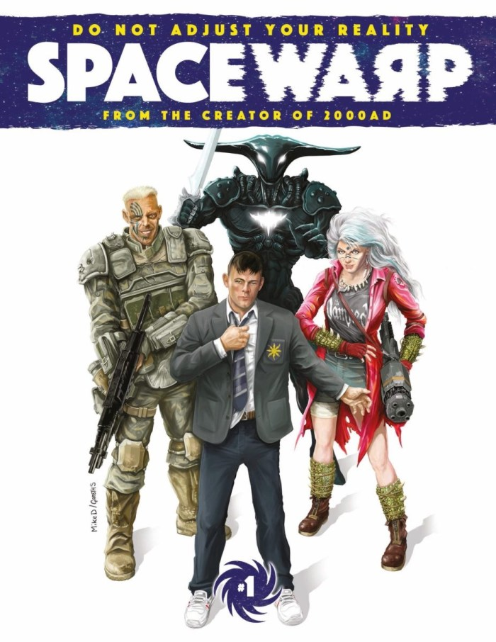 Spacewarp #1 - Cover