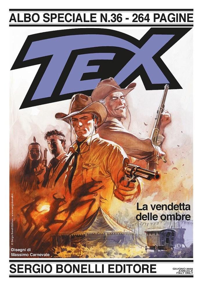 Tex Albo Speciale #36 - Cover