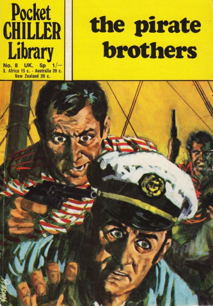 Pocket Chiller Library No. 8 - The Pirate Brothers